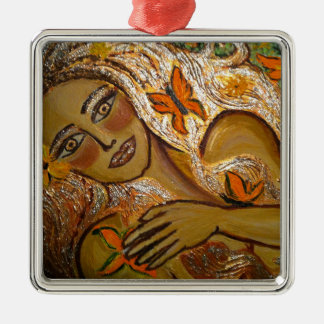 Hope Line Metal Ornament