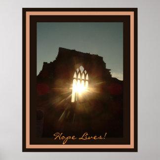 Hope Lives! Poster