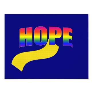 Hope logo card