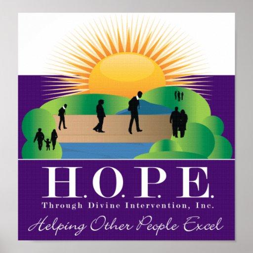 HOPE logo poster