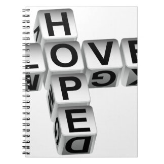 Hope Love Crossword Puzzle Notebook