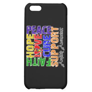 Hope Love Cure Autism Awareness iPhone 5C Covers