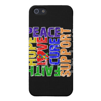 Hope Love Cure Autism Awareness iPhone 5 Covers