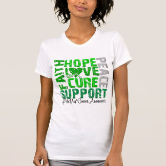 Hope Love Cure Bile Duct Cancer Awareness T-shirts