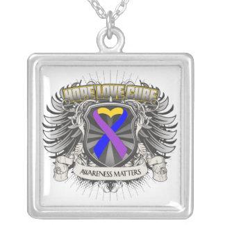 Hope Love Cure - Bladder Cancer Awareness Matters Custom Necklace