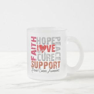 Hope Love Cure Brain Cancer Awareness Coffee Mugs