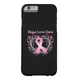 Hope Love Cure Breast Cancer Awareness Ribbon iPhone 6 Case