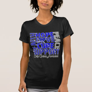 Hope Love Cure Colon Cancer Awareness Shirts