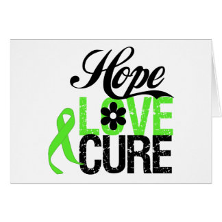 Hope Love Cure for Mental Health Greeting Card