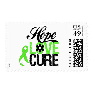 Hope Love Cure for Mental Health Stamps