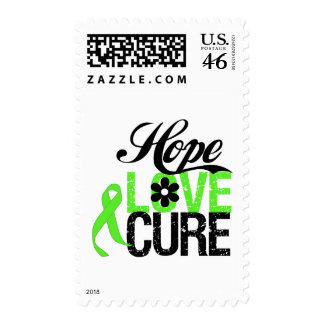 Hope Love Cure for Mental Health Postage Stamp