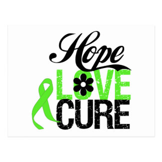 Hope Love Cure for Mental Health Postcards