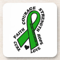 Hope Love Cure...Gastroparesis Drink Coaster