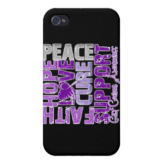 Hope Love Cure GIST Cancer Awareness iPhone 4 Case