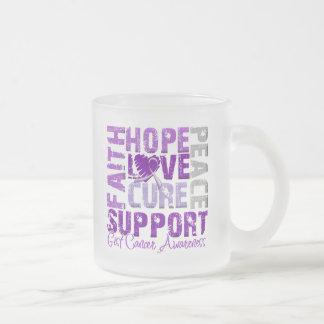 Hope Love Cure GIST Cancer Awareness Mugs