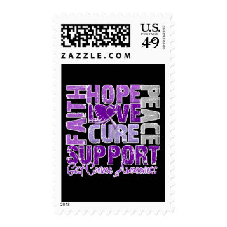 Hope Love Cure GIST Cancer Awareness Stamp