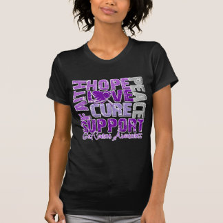 Hope Love Cure GIST Cancer Awareness T Shirts