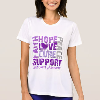Hope Love Cure GIST Cancer Awareness Tees