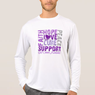 Hope Love Cure GIST Cancer Awareness T-shirts