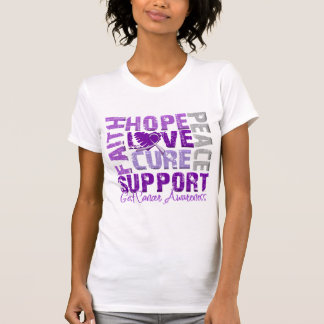 Hope Love Cure GIST Cancer Awareness Tee Shirt