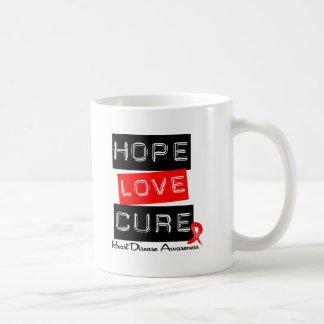 Hope Love Cure Heart Disease Coffee Mug