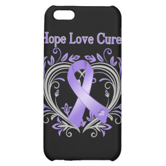 Hope Love Cure Heart Hodgkin's Lymphoma Case For iPhone 5C