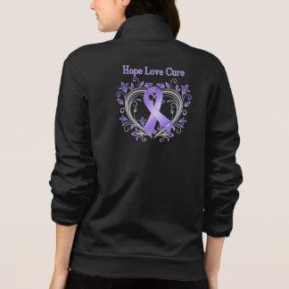 Hope Love Cure Heart Hodgkin's Lymphoma Printed Jackets