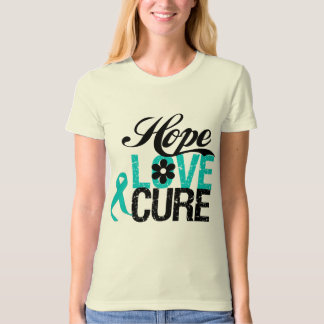 Hope Love Cure Interstitial Cystitis T-shirts