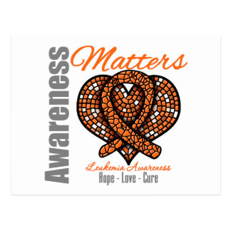 Hope Love Cure - Leukemia Awareness Matters Postcard