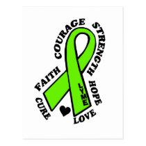 Hope Love Cure...Lyme Postcard
