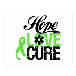 HOPE LOVE CURE Lymphoma Gifts Postcard