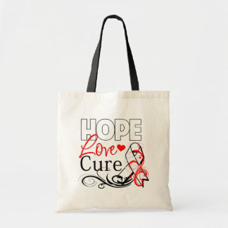 Hope Love Cure - Mesothelioma Awareness Bags