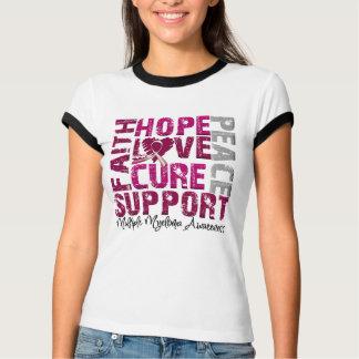 Hope Love Cure - Multiple Myeloma Awareness T-shirt