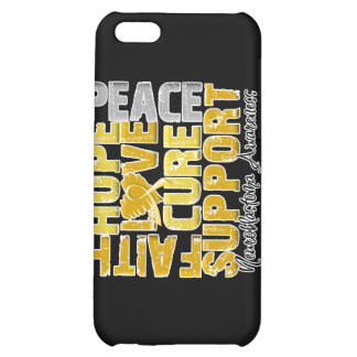 Hope Love Cure Neuroblastoma Awareness Cover For iPhone 5C