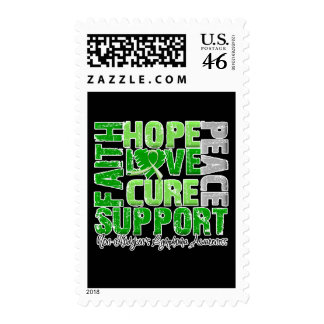 Hope Love Cure Non-Hodgkin s Lymphoma Awareness Postage Stamps