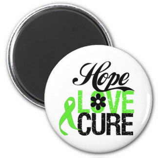 Hope Love Cure NON HODGKINS LYMPHOMA Gifts 2 Inch Round Magnet