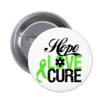 Hope Love Cure NON HODGKINS LYMPHOMA Gifts Pinback Buttons