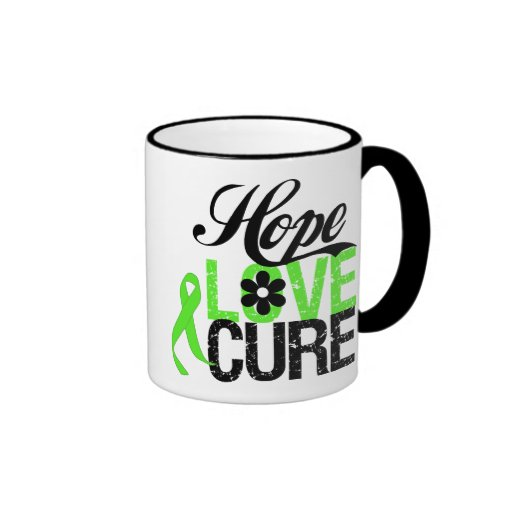 Hope Love Cure NON HODGKINS LYMPHOMA Gifts Coffee Mugs