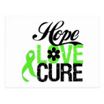 Hope Love Cure NON HODGKINS LYMPHOMA Gifts Postcard