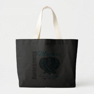 Hope Love Cure - Ovarian Cancer Tote Bags
