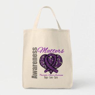 Hope Love Cure - Pancreatic Cancer Tote Bag