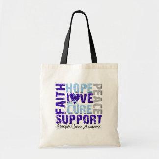 Hope Love Cure Prostate Cancer Awareness Bag