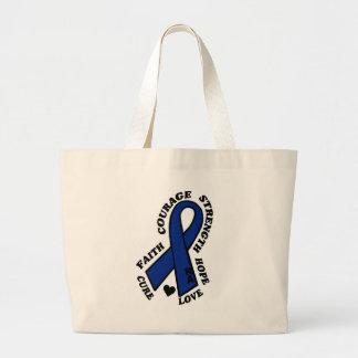 Hope Love Cure RA Large Tote Bag