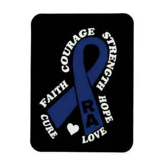 Hope Love Cure...RA Rectangular Photo Magnet