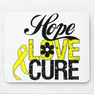 HOPE LOVE CURE Sarcoma Cancer Gifts Mouse Pad