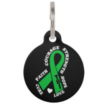 Hope Love Cure TBI Pet Tag