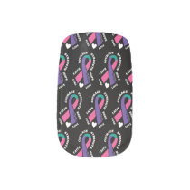 Hope Love Cure...Thyroid Minx Nail Wraps