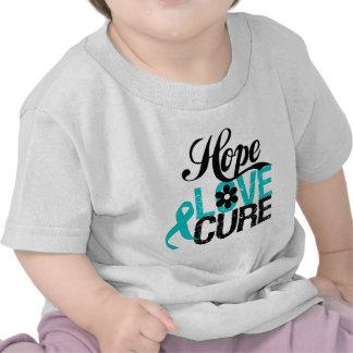 Hope Love Cure Tourette Syndrome Tshirt