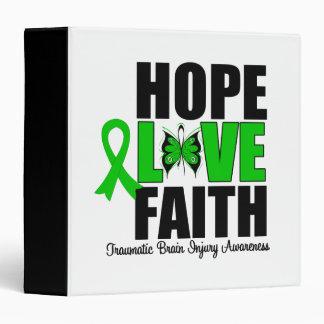 Hope Love Faith Traumatic Brain Injury Binder
