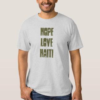 hope love haiti t shirt
